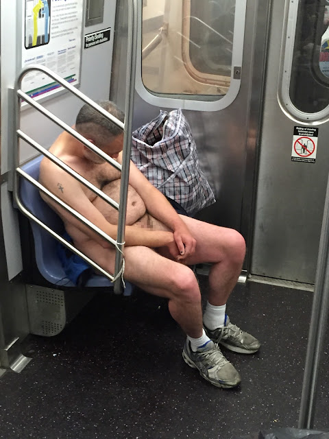 A NAKED MAN ON THE NYC SUBWAY AND THE NSA/AT&T BUILDING