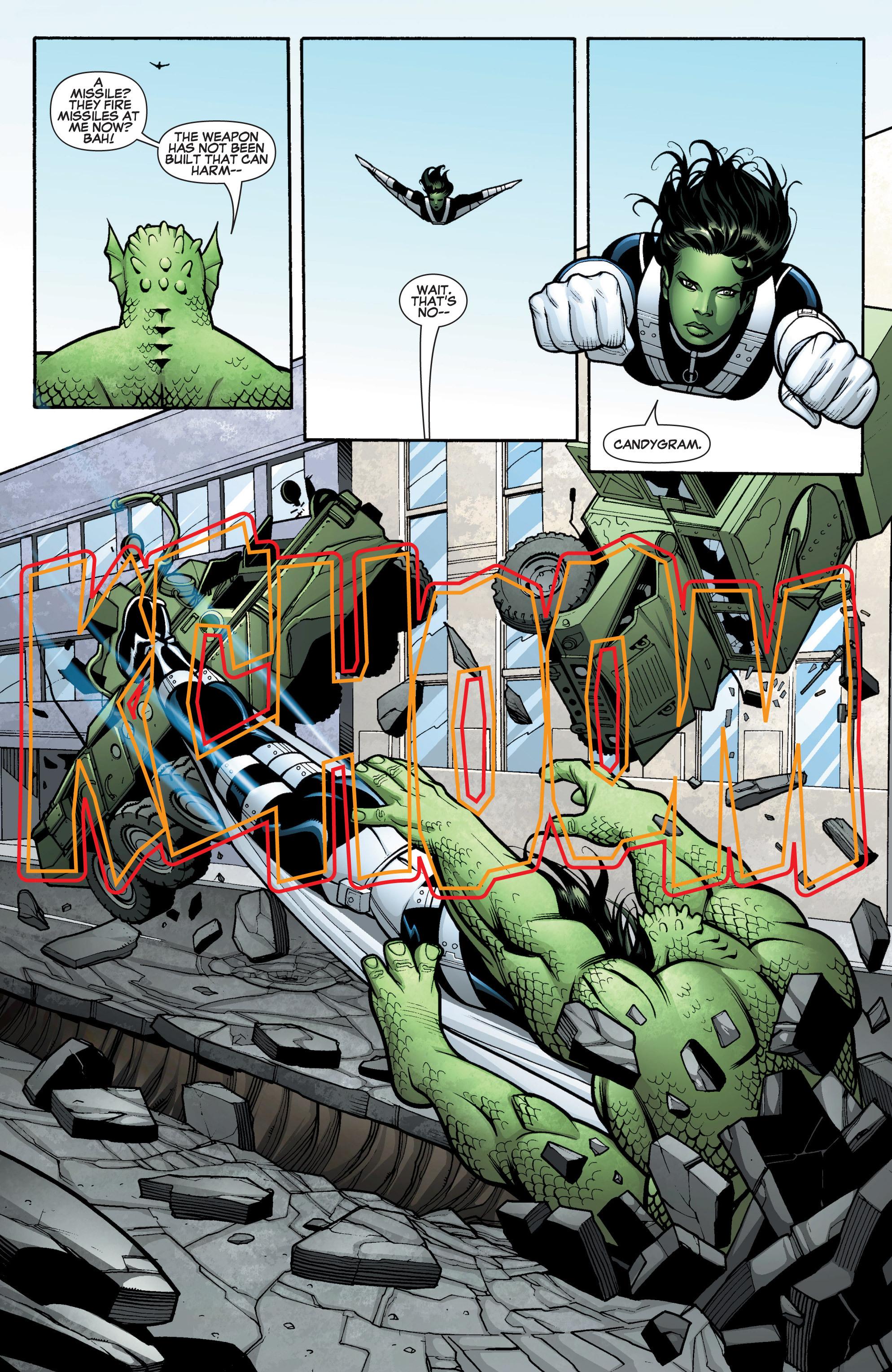 Read online She-Hulk (2005) comic -  Issue #15 - 10