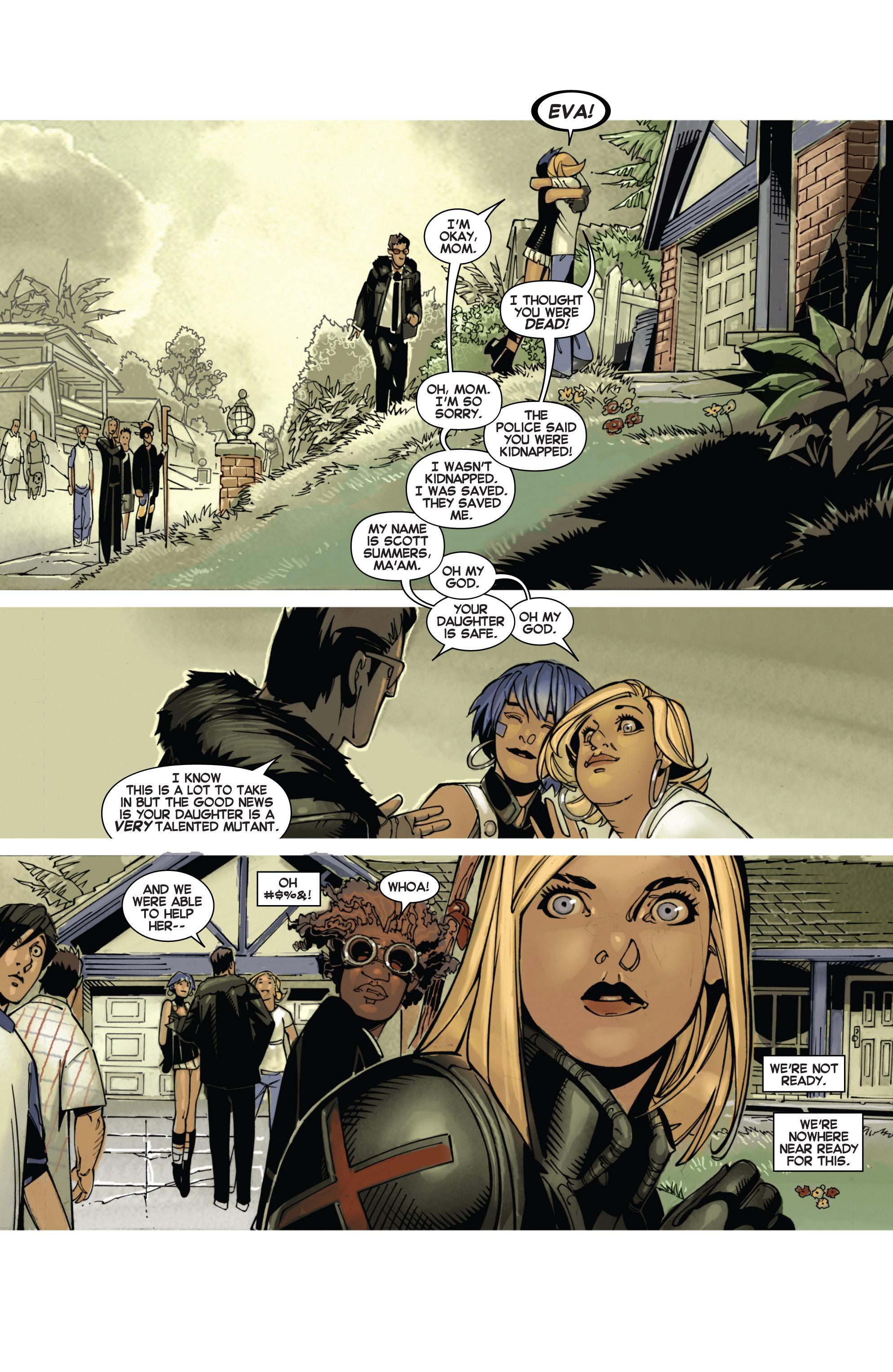 Read online Uncanny X-Men (2013) comic -  Issue # _TPB 1 - Revolution - 42