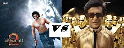 bahubali 2 vs Robo2.0