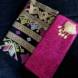 Kain Batik dan Embos 1008 Pekalongan motif Prada Pink