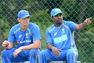 Muttiah Muralitharan speaks about  working  as Australia's bowling consultant
