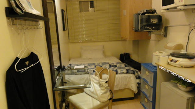 studio room in Hong Kong serviced apartment
