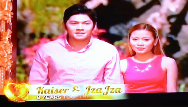 Couple Kaizer and Jza Jza on Realiserye 'I Do' of ABS-CBN