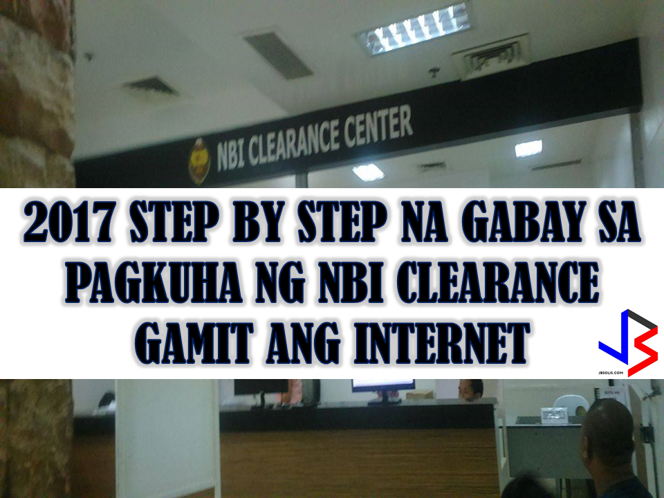2017 step by step process how to get nbi clearance using the nbi to start issuing multi purpose clearance starting october 2 malvernweather Choice Image