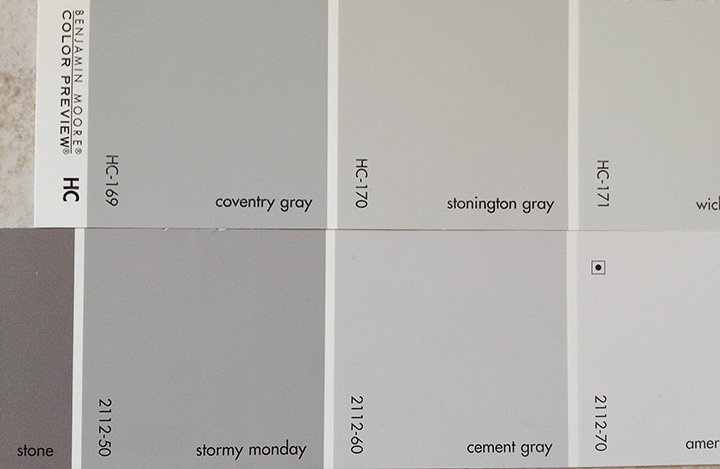 Cement Gray Paint : Re entry gina demillo wagner