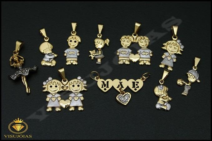 Pingentes semi-jóias