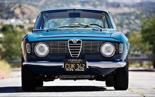 Alfa Romeo Giulia Sprint GT-1965.
