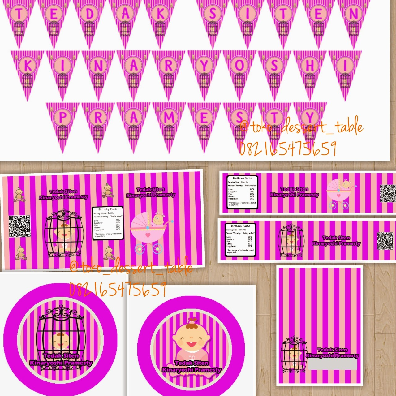 Toko Dessert Table Printable Part 2
