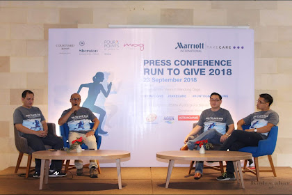 Run To Give 2018 Bersama Group Hotel Marriot Bandung