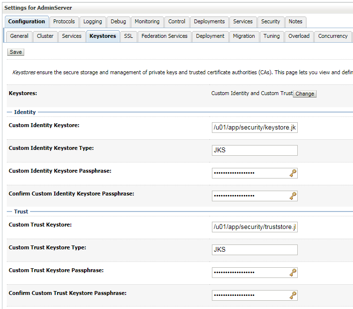 Another technical blog about Middleware: SSL Configuration on Weblogic