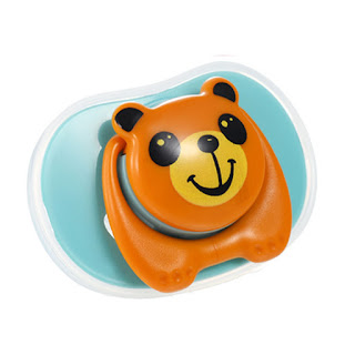 Cute Cartoon Pacifier Blue
