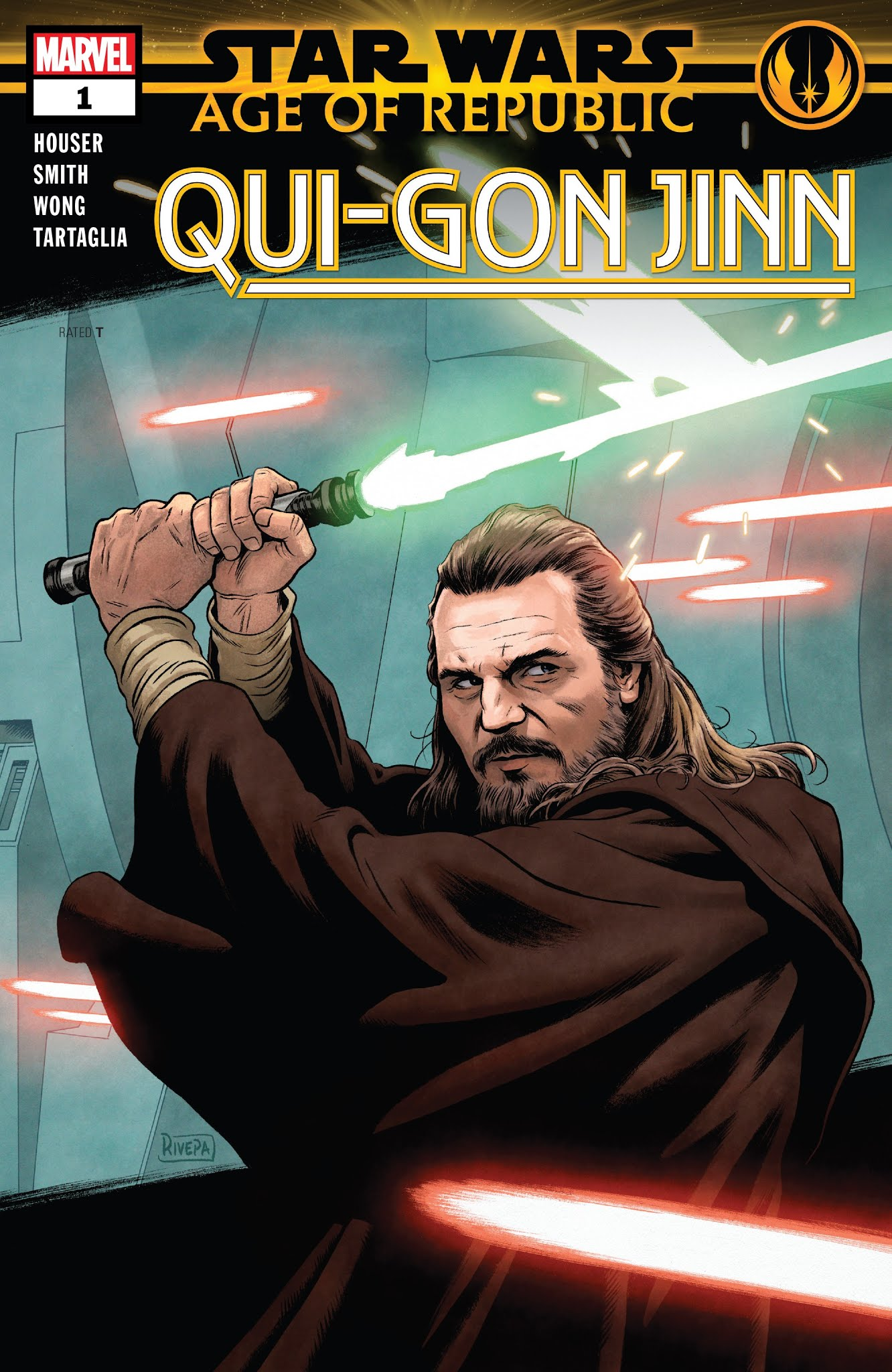 Star Wars: Age of Republic: Qui-Gon Jinn Full Page 1