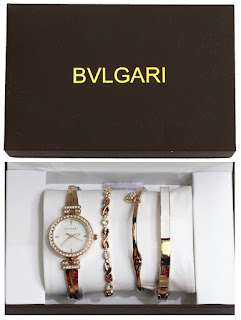 Jam tangan Bvlgari,Jam  Bvlgari  3 bracelet