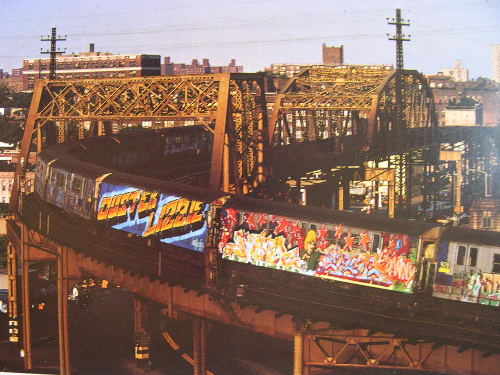 Subway Art Remembering A Time When New York Citys Subways Were Covered In Graffiti Vintage Everyday