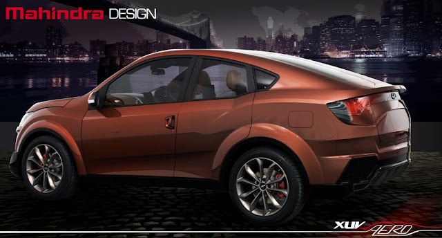 Mahindra XUV Aero Concept Auto Expo 2016