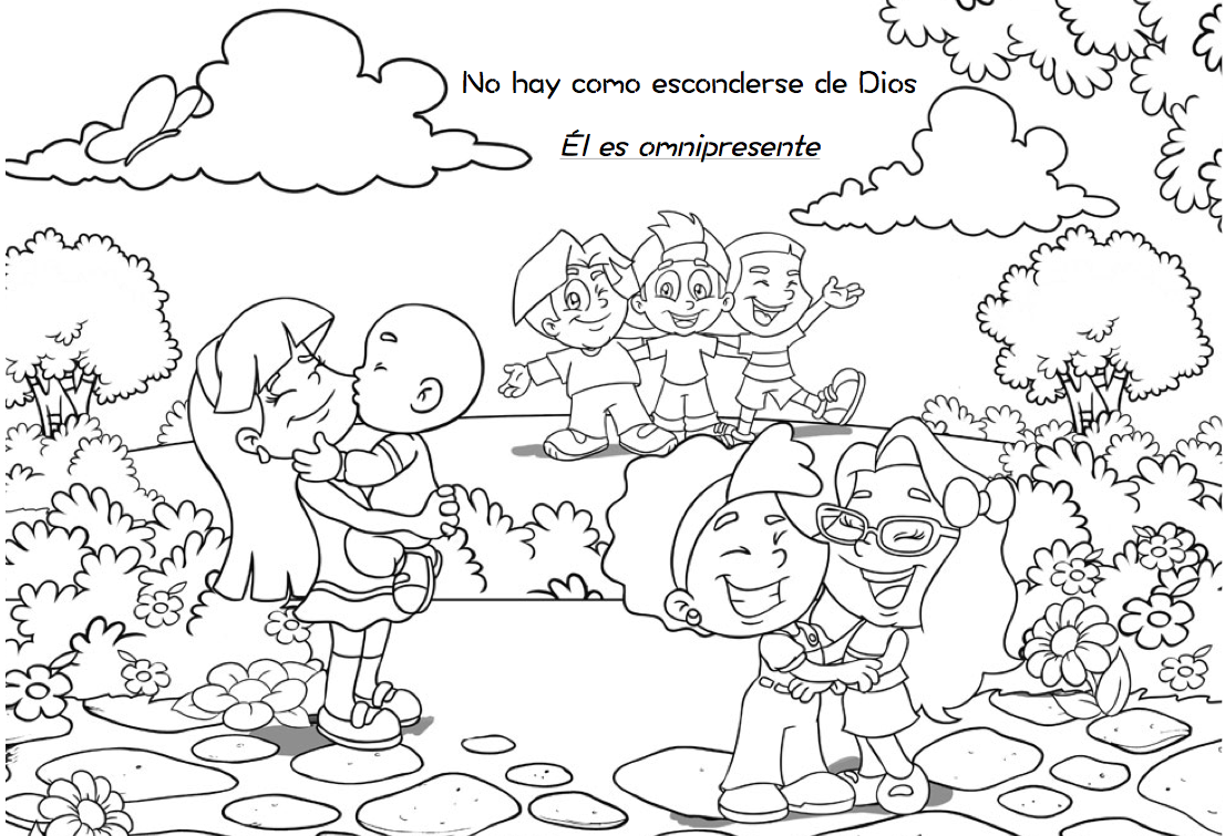 Las Misiones Y Los Niños Dibujos Para Colorear De Niños: Escuelita Biblica Infantil
