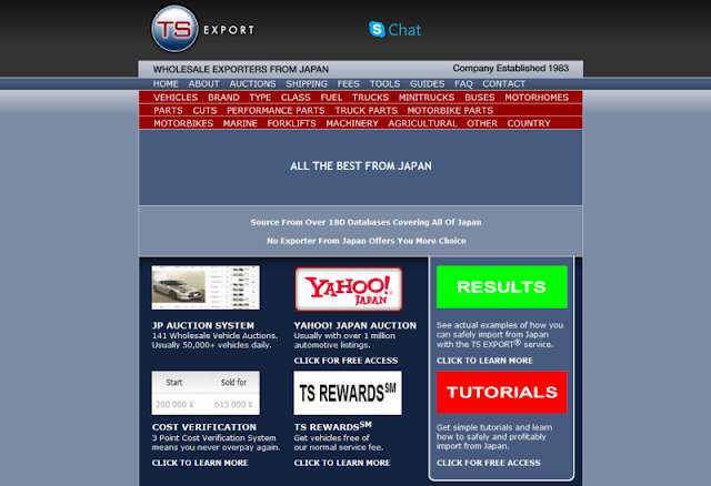 trusted import and export company in Japan