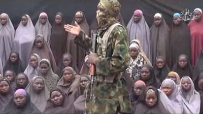 In the video, the feared terrorist bunch demonstrated the characteristics of a few young ladies numbering around 50 in hijabs.