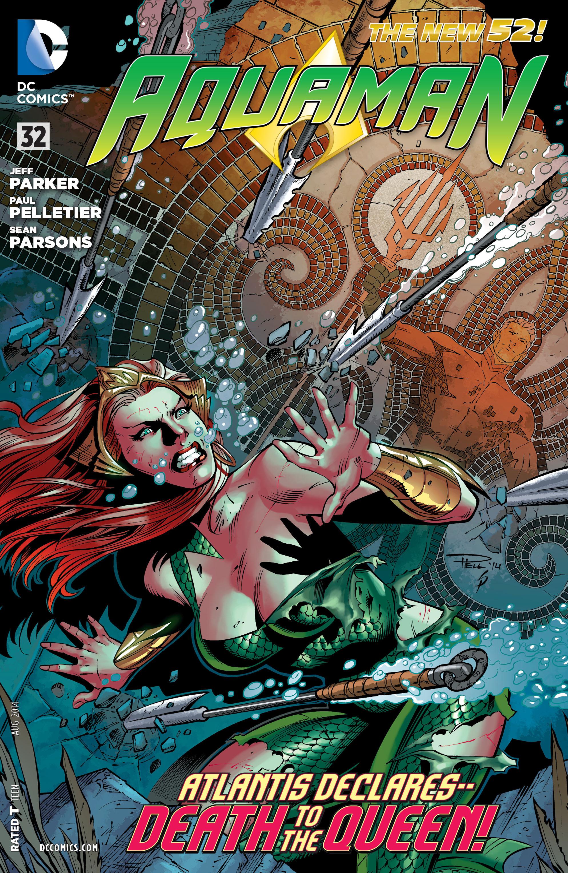 Read online Aquaman (2011) comic -  Issue #32 - 1