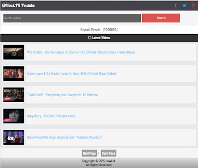 Create Your Own Video Streaming Wapsite Like Youtube Mobile Site