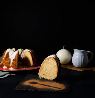 Bundt Cake de Turrón Thermomix