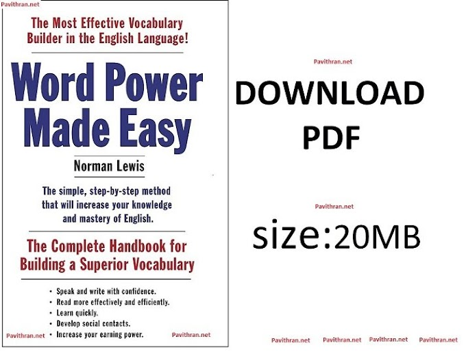 Word Power Made Easy by Norman Lewis Book PDF Download