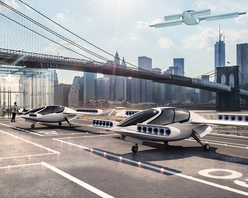 Tinuku.com Lilium successful prototype flight test electric jet flying taxi vertical system