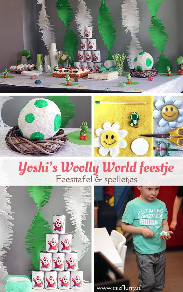 yoshi verjaardag feestje