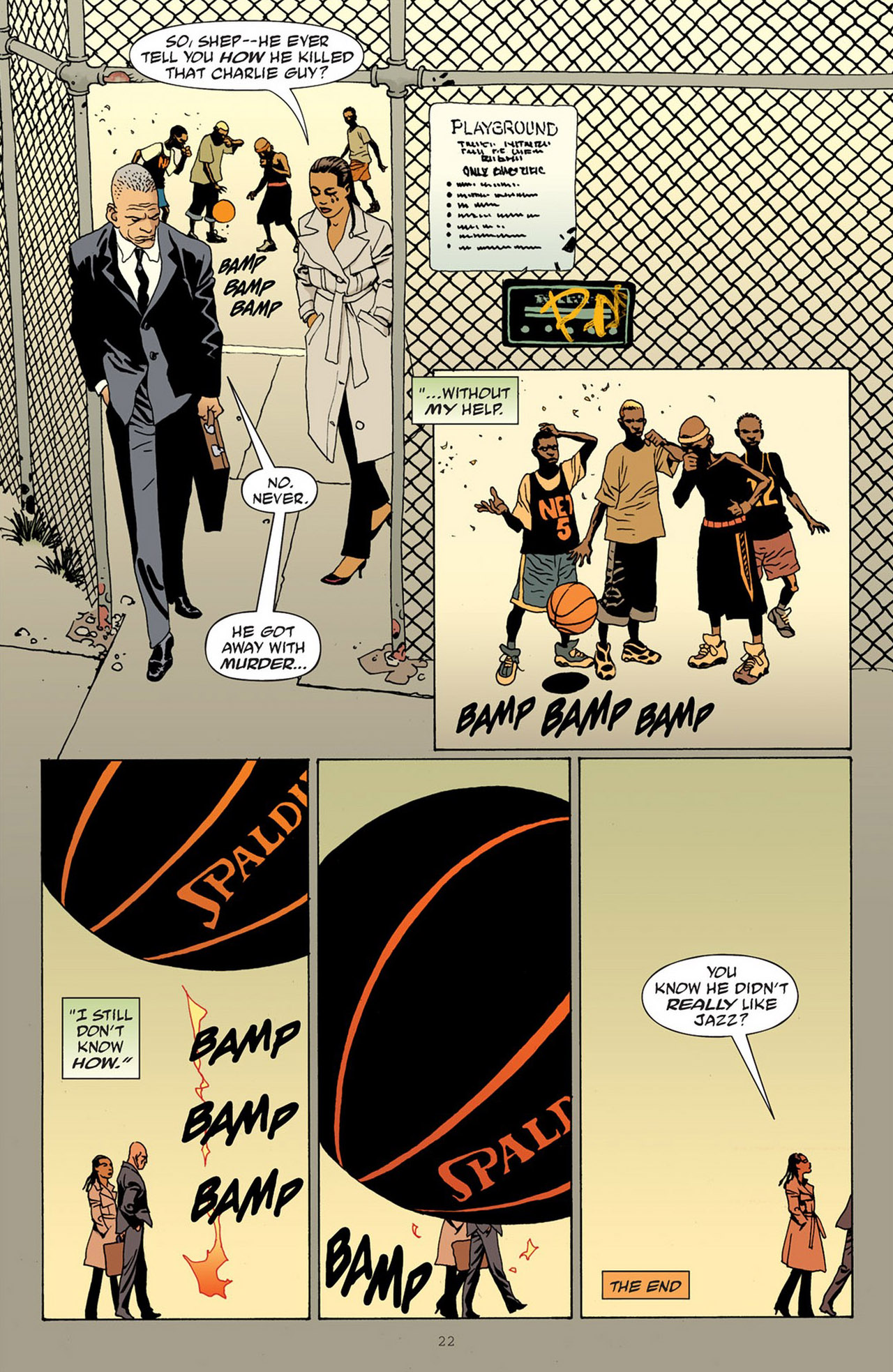 Read online 100 Bullets comic -  Issue #83 - 23