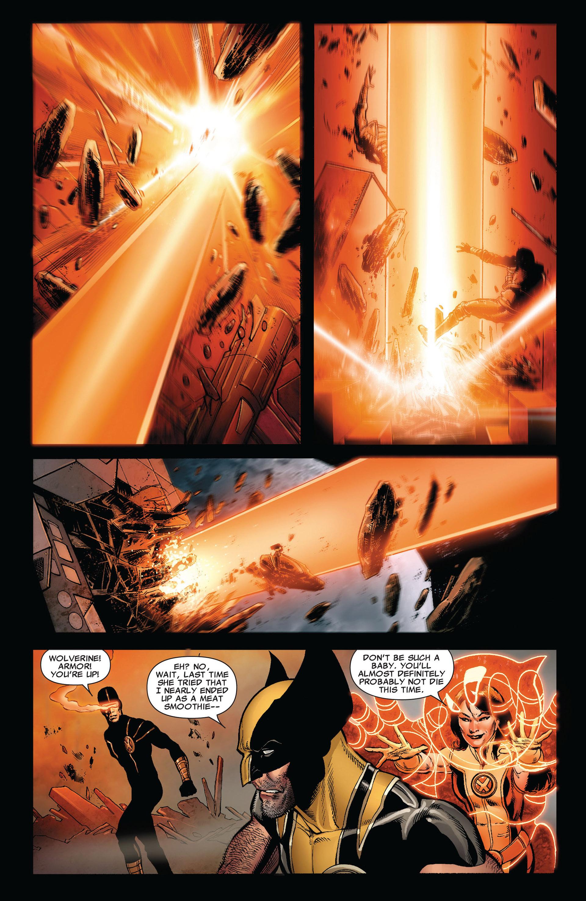 Read online Astonishing X-Men (2004) comic -  Issue #35 - 11