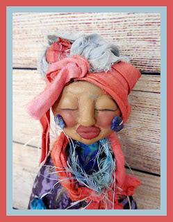 OOAK Crone Intuition Spirit Doll