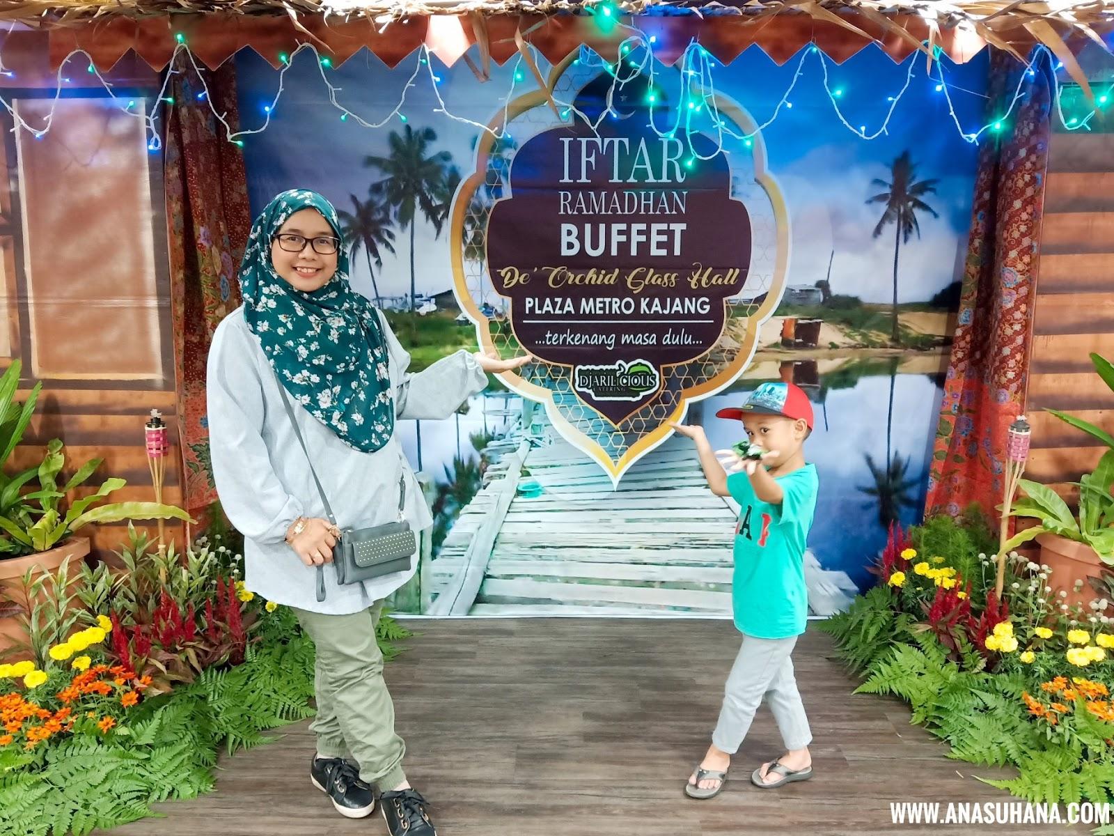 Bufet Ramadan Sajian Melayu Murah di Kajang dari Djarilicious Catering