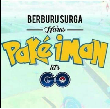 Kumpulan DP BBM Meme Lucu Pokemon Go