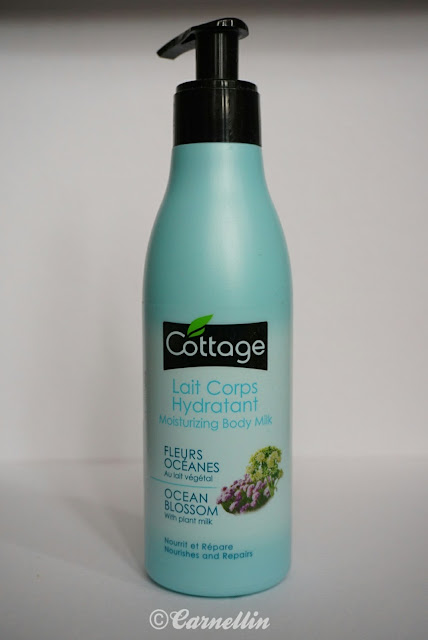 ocean lait corps hydratant