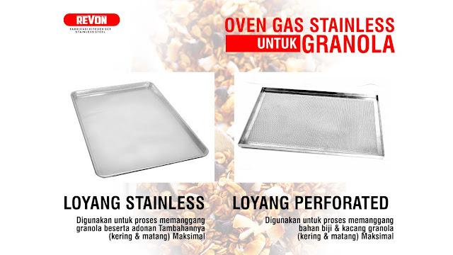 Oven Gas Convection Untuk Granola Bar