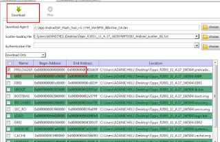 Preloader , yang di isi lalu pilih menu Download