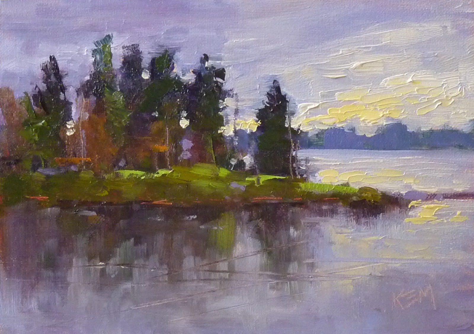 Painting Inspiration: Painting My World: Art Inspiration From Finland