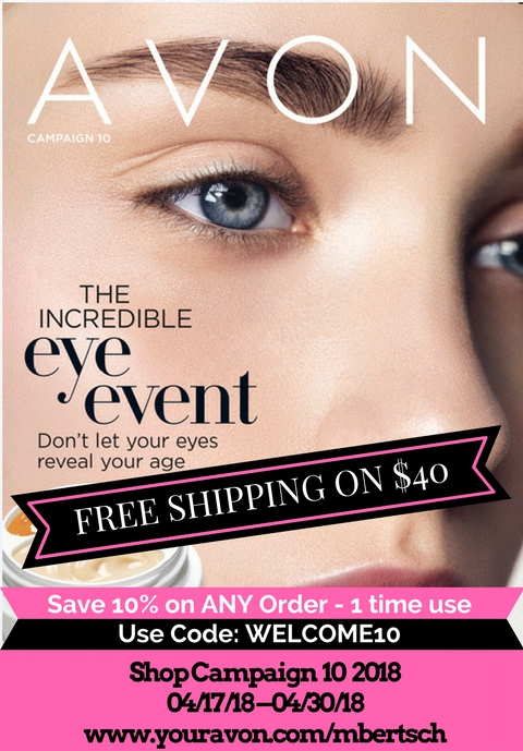 New Avon Catalog April 2018 Campaign 10 Brochure