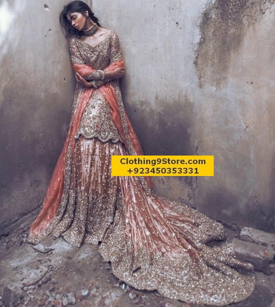 Sana Yasir Latest Bridal Summer Collection