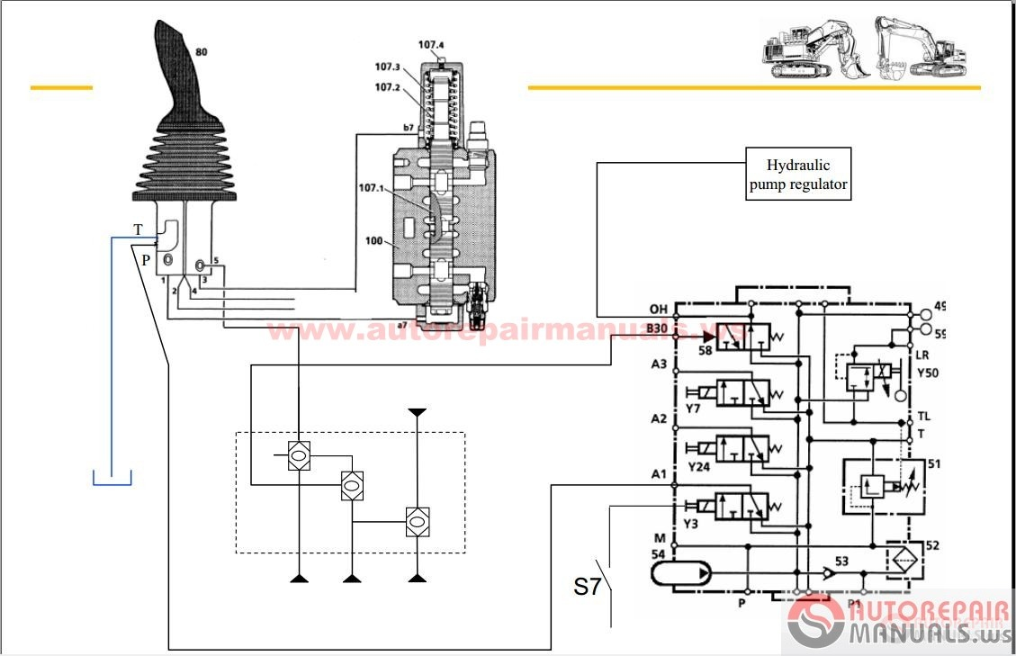 wiring diagram hydraulic diagram operator s manual liebherr wheel