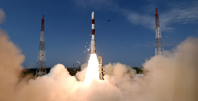 PSLV-C38 launch on June 23. Credit: ISRO