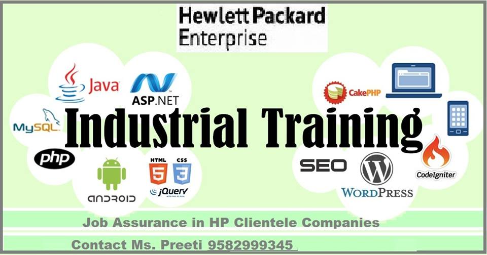 Project Industrial Training In Noida Or Delhi Acquire The Hpe