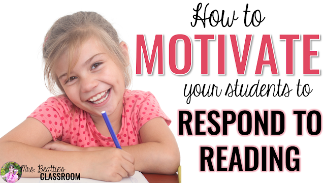 Children LOVE to listen to the teacher read. What they typically don't love is to answer questions about what they've read. I've created highly motivating reading response activities that my students look forward to every day! These activity sheets contain engaging prompts for popular picture books!