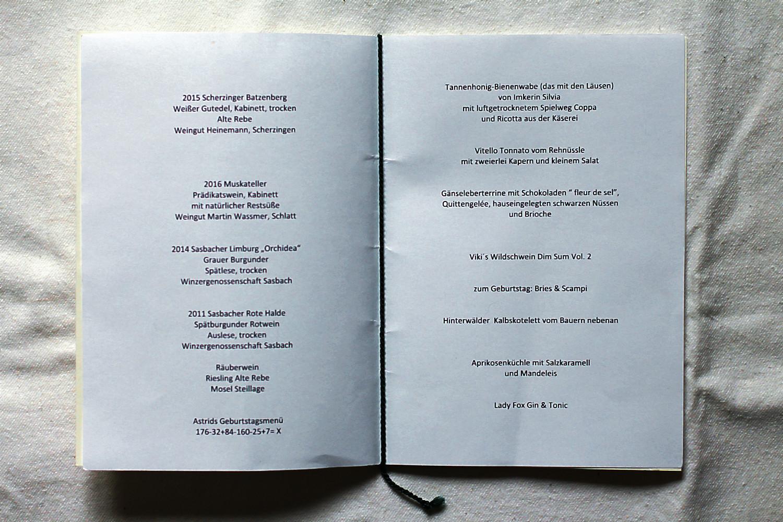 Mein Geburtstagsmenü und die Weine im Spielweg, gekocht von Viktoria Fuchs | Arthurs Tochter kocht. von Astrid Paul. Der Blog für food, wine, travel & love