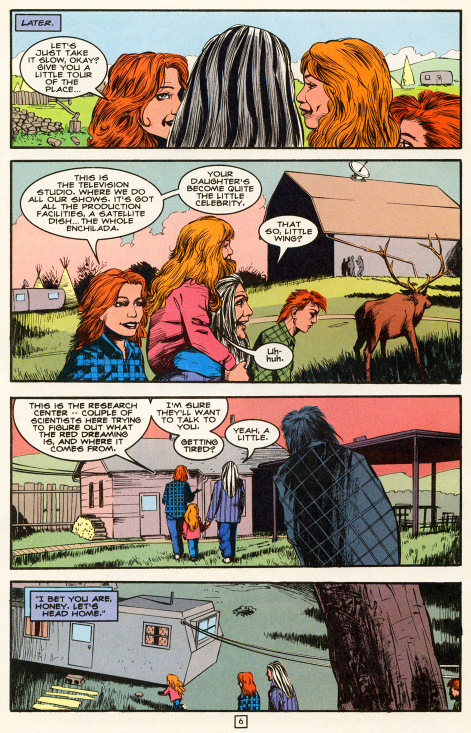 Read online Animal Man (1988) comic -  Issue #82 - 7