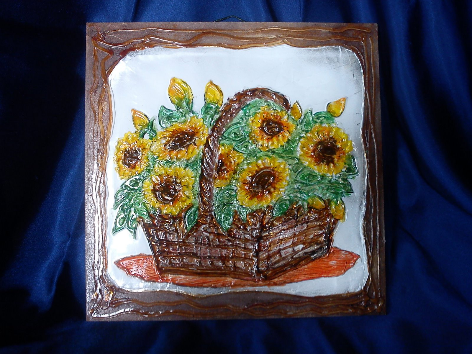wn ats contoh bunga hiasan