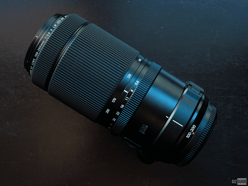 The new 100-200 zoom lens for the G-Mount