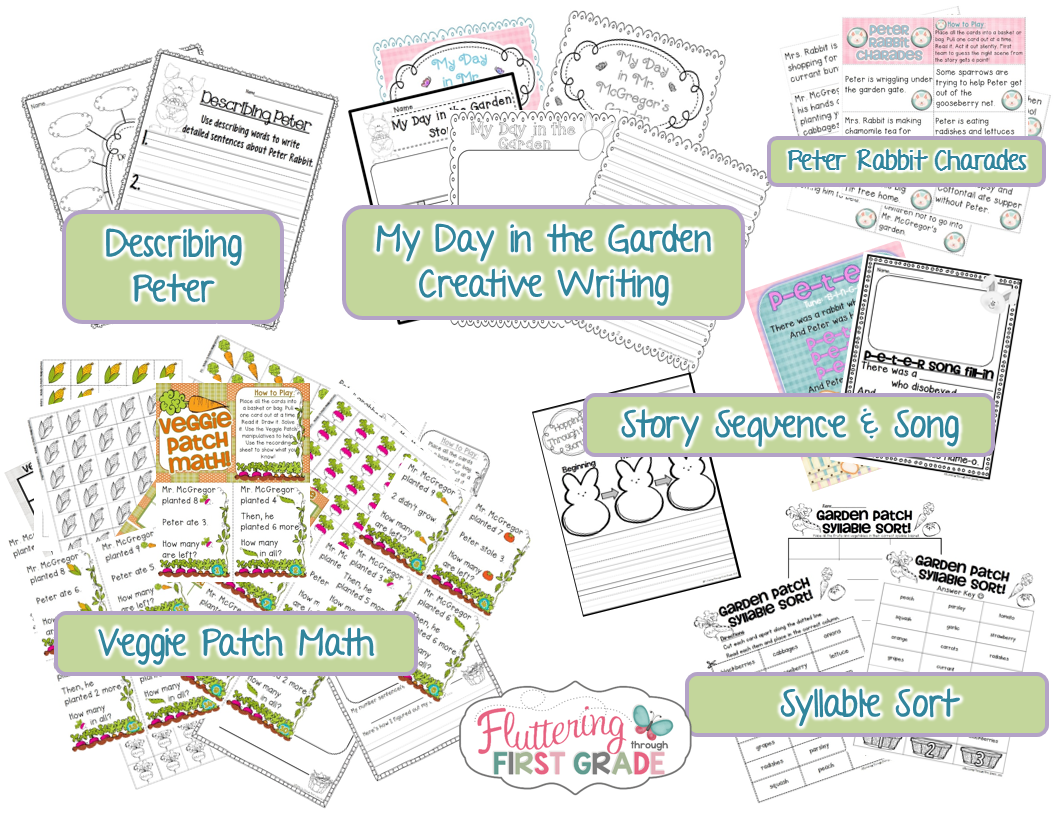 Spring Math Center Activity Amp Peter Rabbit Resources