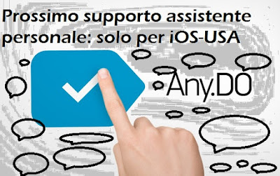 Assistente personale Any.do: prossimamente solo per iOS